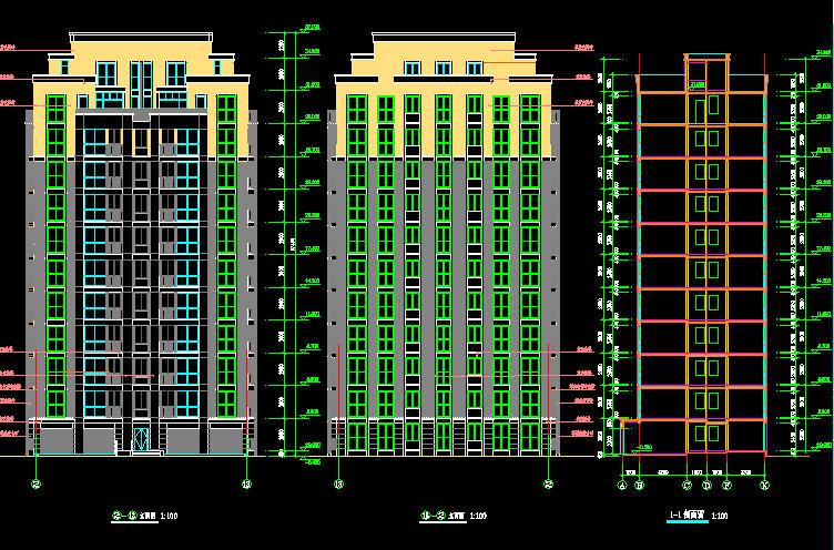 小高层综合体办公楼施工组织设计#陕西#框架结构#附平面图