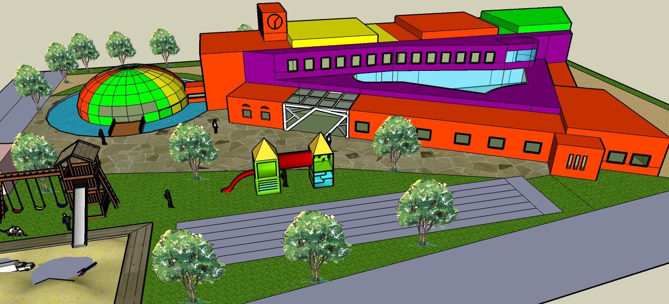 幼儿园活动室平面图; 扎兰屯市幼儿园; 1(已上传图纸2套);