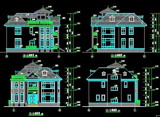 别墅立面图2