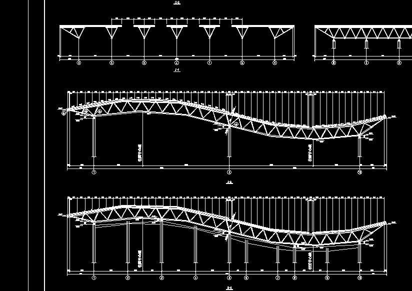 三角形管桁架体系