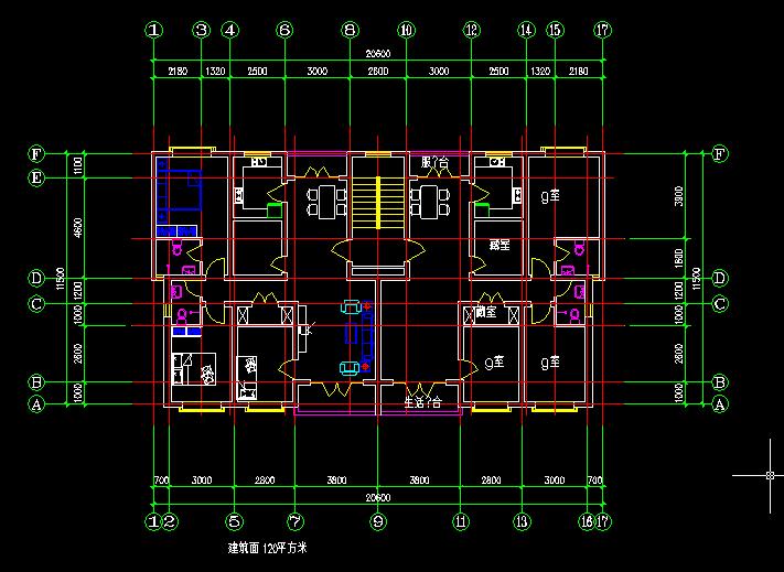 户型 户型图 平面图 711_519