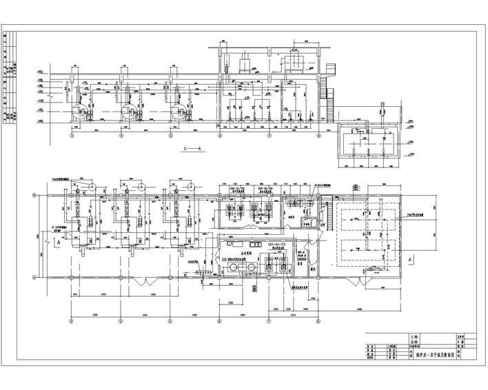 六吨燃油锅炉房全套设计图片