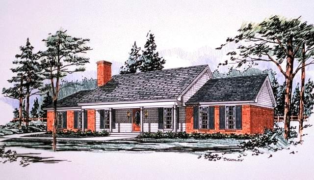 别墅手绘图