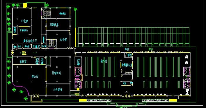 建筑学作业汽车站设计