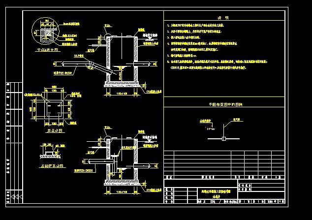 国外某小区高层框架结构住户给排水安装图纸 给排水常用水表及特种