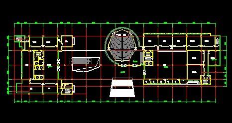 综合办公楼建筑CAD图纸