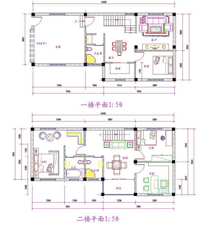别墅平面图图片