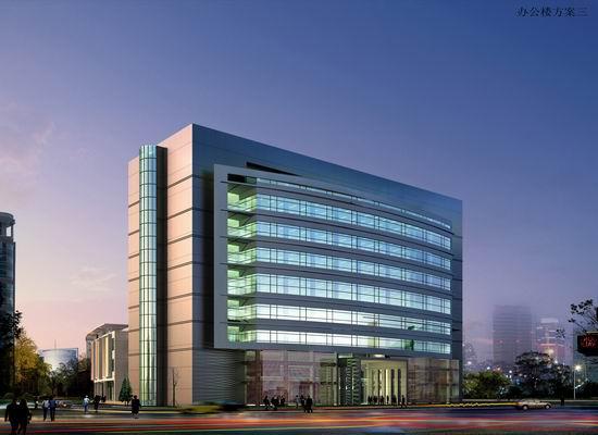 某宿舍办公楼结构施工,建筑施工,水,电全套图纸 某市党校8层办公楼