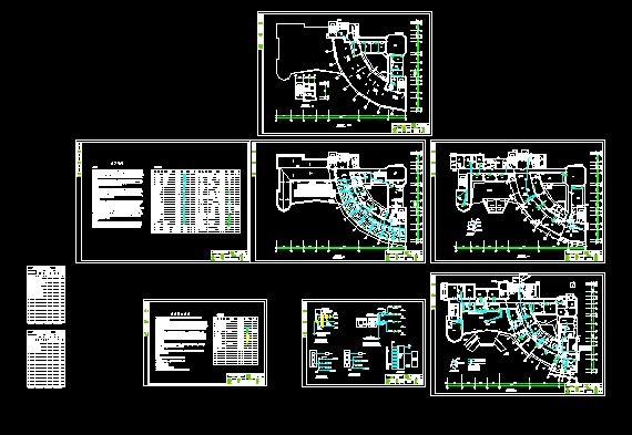 临时用电平面图水电平面图纸农村建筑水电平面图医院
