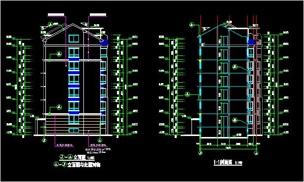 某住宅楼全套图纸(土建毕业设计模板)