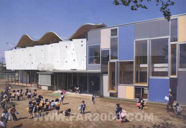 相关专题:日本幼儿园设计