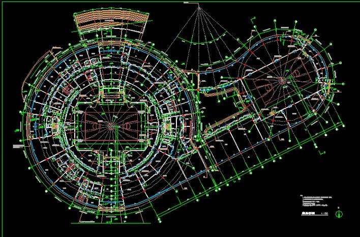 体育场平面图_CO户型v户型土木下载绘制方法图图纸图片
