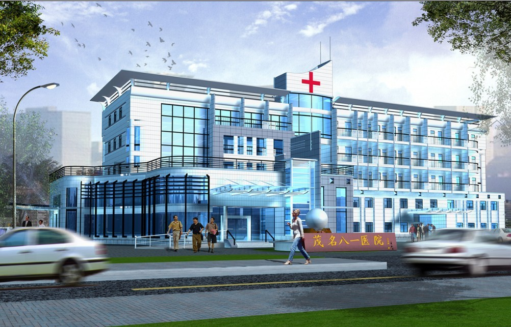 南方某城市综合医院 高清图片