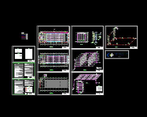 消防栓设计图例cad2010图纸输出集pdf图片