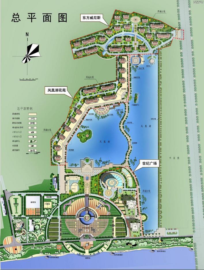 鹤山公园详细规划设计