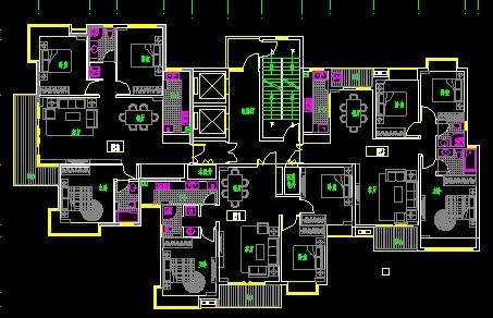 高层 楼梯设计图