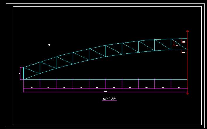 某单层厂房结构图(梯形屋架 无吊车 水泥搅拌桩地基处理) 某地单层
