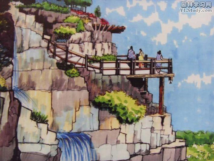 相关专题:手绘牌坊 手绘总图 手绘立面 手绘亭子 园林手绘 景观手绘