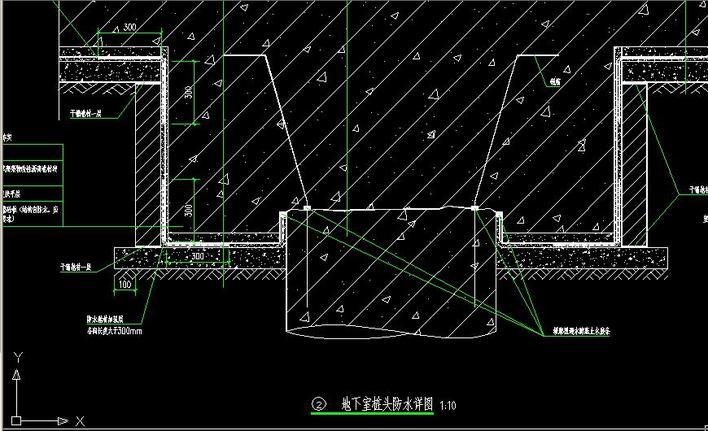 地下室防水详图