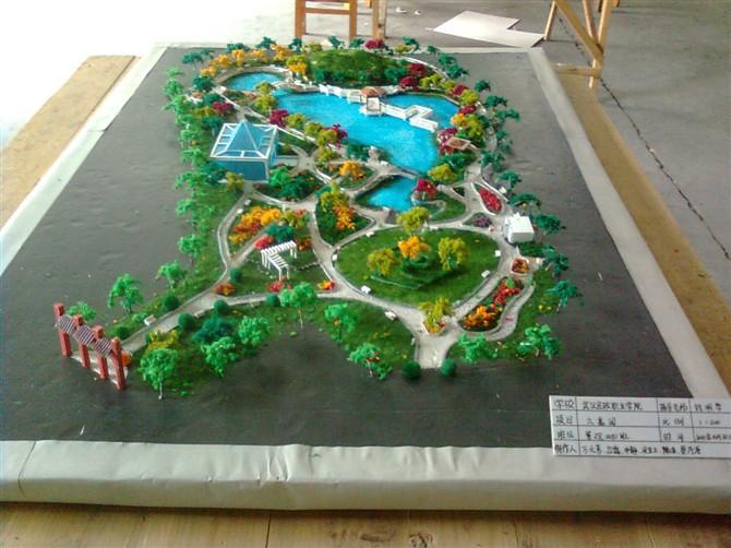 小游园设计平面图手绘