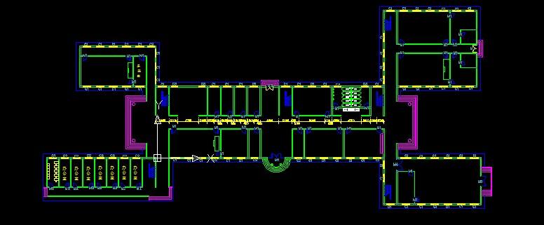 办公楼底层平面图 住宅楼底层平面图