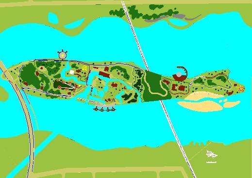 一个小岛的规划方案二   相关专题:青岛红岛经济区规划图 红岛经济