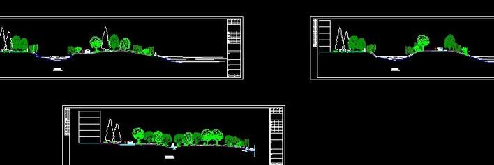 相关专题:景观规划剖面图手绘景观规划剖面图道路两侧绿化景观剖面图