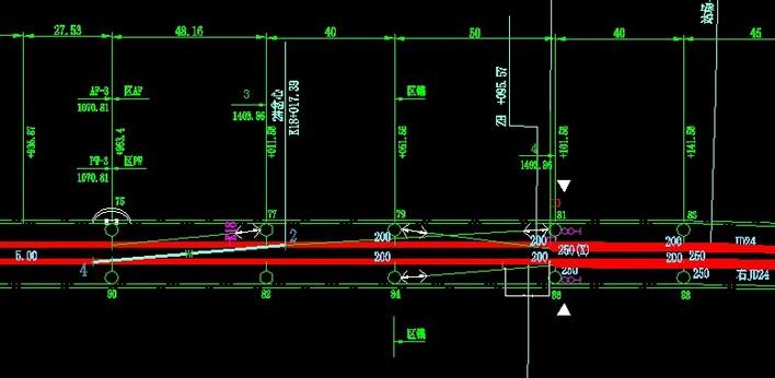 收藏图纸某站接触网平面图相关图纸怎么电站懂铁路水下墙看图片