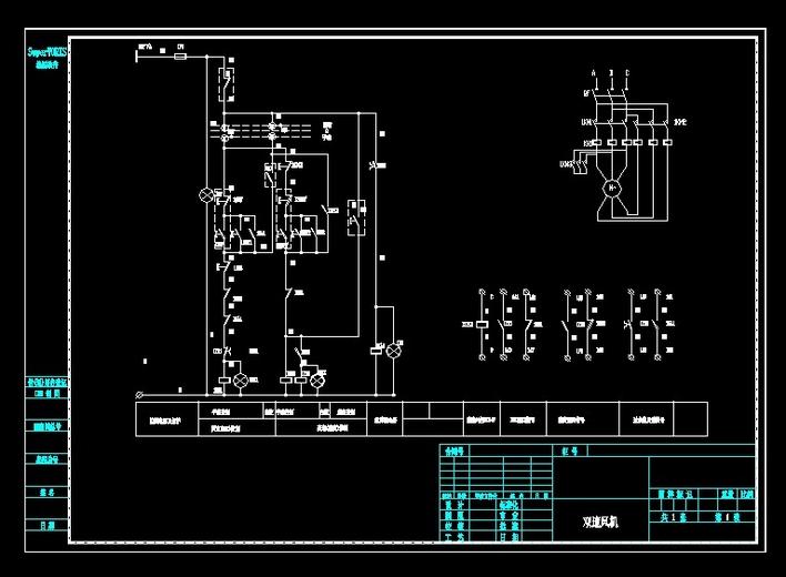 相关专题:双速电机接线图