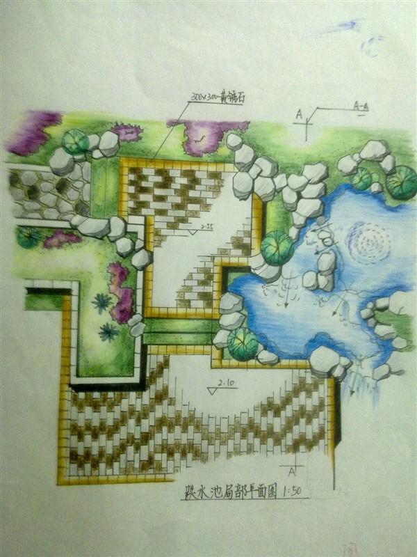 花坛设计手绘图 展馆设计手绘图 水景设计手绘图  所属分类:园林设计