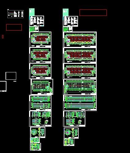 简介:关于厂房的建筑施工图