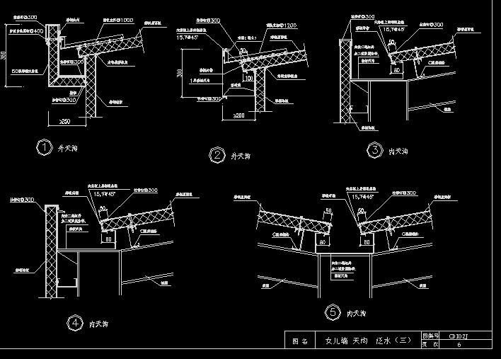 钢结构建筑构造图集 cdi02j