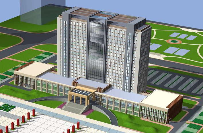 高层政府办公楼