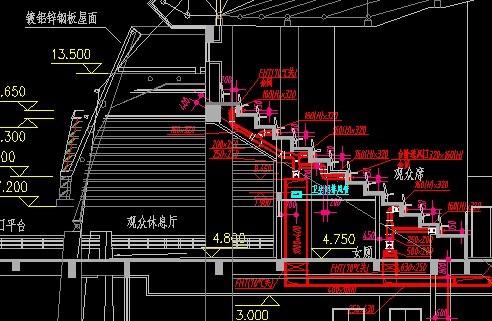 日本某小学体育馆框架结构(部分钢结构)施工图 某中学体育馆的全套图片