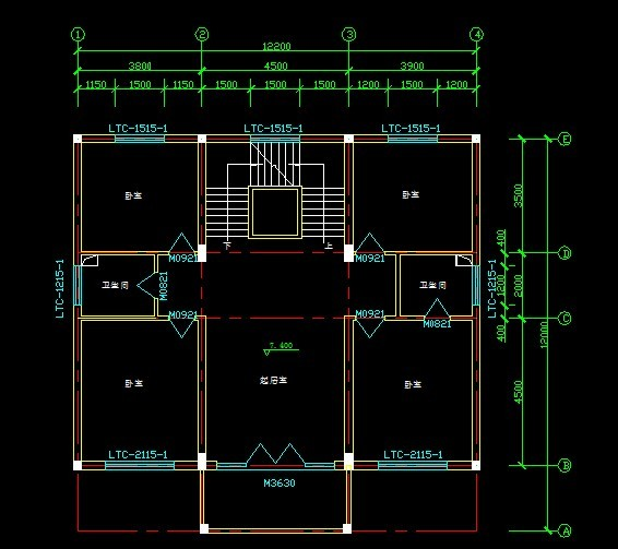 民用住宅设计平面图,私人住宅设计平面图,100方住宅设计平面图,私人图片