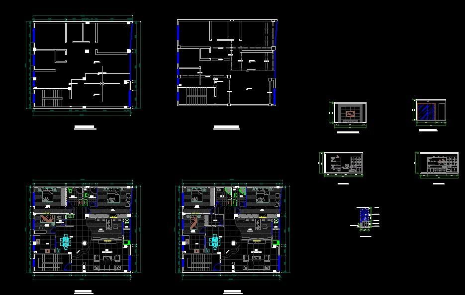 楼中楼室内装修图 农村楼中楼设计图  所属分类:建筑图纸  布置图相