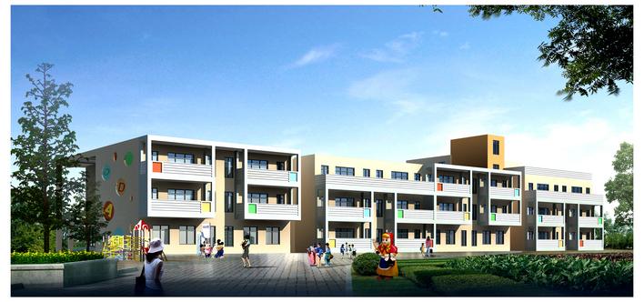 某12班幼儿园建筑方案设计
