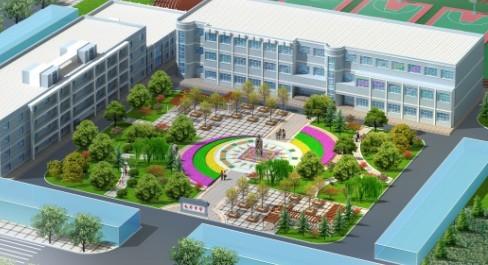 学校广场设计平面图_三面都是楼房的广场设计
