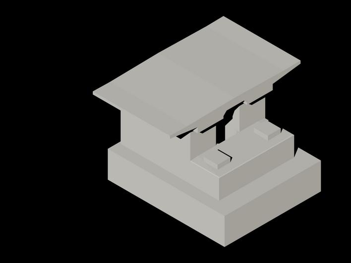客专t型桥台结构图