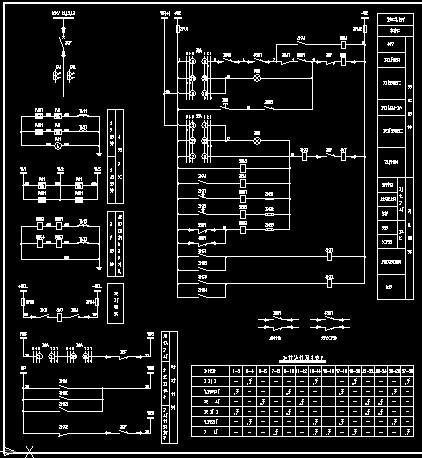 次接线原理图二次回路原理图电气二次图变电所二次图