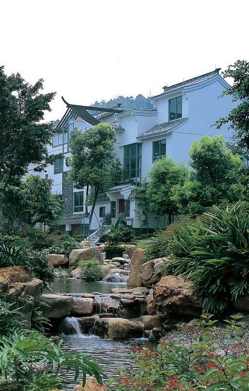 国际风格楼盘新中式风格-- 东方墅