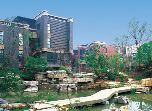国际风格楼盘新中式风格--南京汤山公馆图片