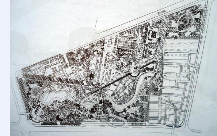 上海徐家汇公园平面图