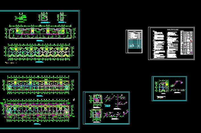钢结构水电施工图