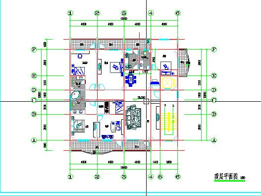 本工程为城镇上小旅馆建筑设计,附有结构图