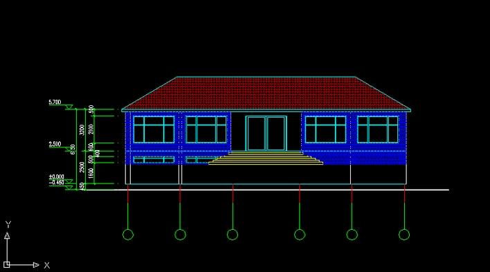 农村盖平房设计效果图