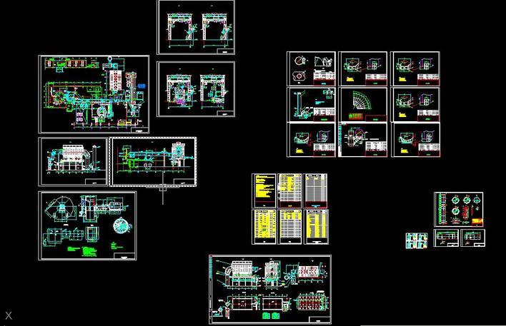 设备出铁场v设备图纸高炉及管道安装图_CO土求板系统输送机链图片