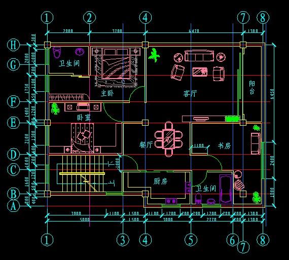 基督教教堂设计图纸建筑平面图及结构施工图 通用农村低层住宅建筑