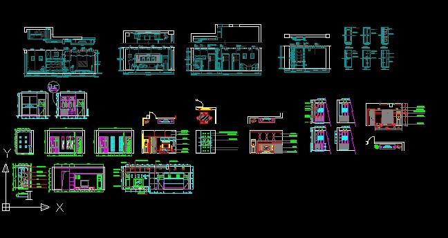室内设计立面图