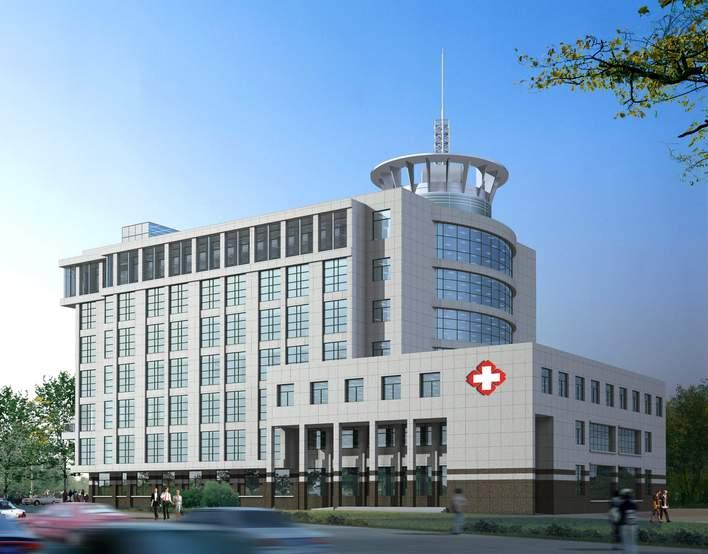 医院设计方案效果图高清图片